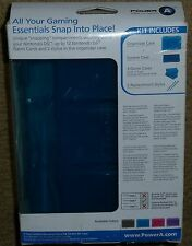 NINTENDO DSi OFFICIAL ACCESSORY PACK BRAND NEW! in Blue Console Game Case Stylus