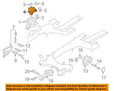 T834 Fits 2001 Kia Optima 2.5L// 02-06 Optima 2.7L Front Right Engine Motor Mount