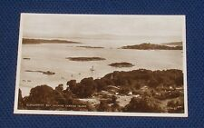 Ireland - Glengarriff Bay, Showing Garnish Island - Old Picture Postcard