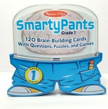 Melissa & Doug Smarty Pants 1st Grade 120 Educational Questions Puzzles Games