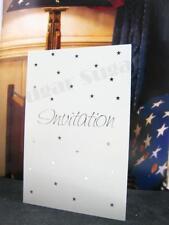 10 cards+10 Envelopes John sands Wedding Invitation cards Engagement Celebration