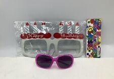 2 Special/Birthday Glasses Bundle