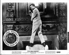 Jerry Lewis near EXCELLENT studio still IT'S ONLY MONEY (1962) Dir Frank Tashlin