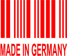 Made in Germany Vinyl Decal Sticker Euro BMW Audi VW VAG GTI GLI R32 Golf Jetta