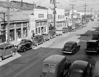 "1942 Main Street, San Pedro, California Vintage Photograph 8.5"" x 11"" Reprint"