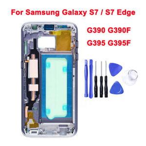100% Genuine For Samsung Galaxy S7 / S7 Edge Middle Frame Bezel Housing Plate