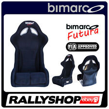 FIA Racing Seat BIMARCO FUTURA BLACK WITH HOMOLOGATION - CHEAP AND FAST DELIVERY