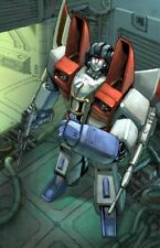 "TRANSFORMERS POSTER: Starscream (classic)  27"" x 39.5 Pat Lee Dreamwave"