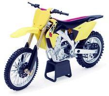 Suzuki RM-Z450 Yellow scale 1:12 Die Cast Bike Model From NewRay