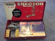 Gilbert Erector No 10041 The Power Model Set
