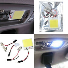 48 SMD COB LED T10 BA9S 4W 12V luz blanca coche panel interior luces