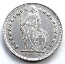 SWITZERLAND 1/2 FRANC 1953 B Silver KM#23 E7.1