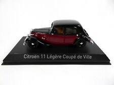 Citroen light 11 coupe de ville 1935 - 1/43 norev miniature car 153050