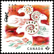 Canada 2801 Lunar New Year Ram permanent single (1 stamp) MNH 2015