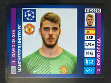 2013-14 Panini Champions League sticker #9 David De Gea Manchester United