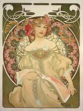 Vintage Art Prints Alphonse Mucha