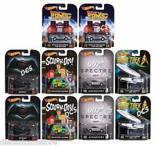 "HOT WHEELS 1:64 RETRO ENTERTAINMENT ""B"" CASE ASSORTMENT Set Of 10 DMC55-959B"