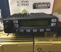 Icom IC-F510 VHF Radio Brand New In Box complete with Mic Brackets Etc.