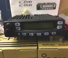 Icom IC-F510 Vhf Radio Marca Nuevo en Caja Completo Con Soportes De Micrófono, etc.