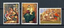GB 1967 Christmas Paintings, MNH, SG 756 - 758