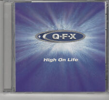 SEALED Qfx: High on Life CD Pop Music Songs Album 1999 Quality Recordings #F30