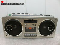 VINTAGE STEREO RADIO CASSETTE RECORDER SONY CFS-66