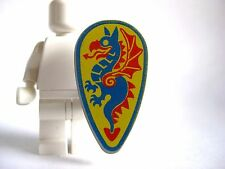 Lego Dragon SHIELD Vintage Castle -Ovoid- Blue/Red Dragon