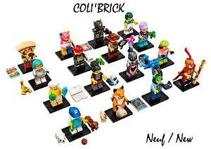 Lego 71025 - Minifigures Série 19 - Choisissez vos minifigs - New Neuf