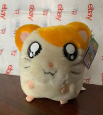 "Hamtaro Plush Coin Bank 6"" with Original Tags 2002 2003 Street Players Pics!"