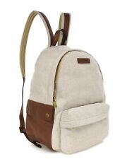 $2645 Brunello Cucinelli Country Backpack With Side Pockets Canvas New