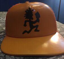 ICP Insane Clown Posse Snapback Trucker Hat Cap Juggalo Hatchet Man Orange