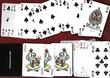 Porche playing cards by Richard Edward - new, 3 nice jokers