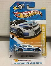 Ford Falcon Race Car #4 * White * 2012 Hot Wheels * C4