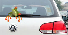 3D Effect Peep Frog Funny Car Stickers Truck Window Decal Graphics Paster