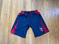 Minnesota Twins Nike Dri-Fit Shorts Mens Medium EUC Rare MLB Baseball