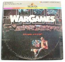 Vintage Missile Waring War Games 1983 Laserdisc Extended Play Stereo