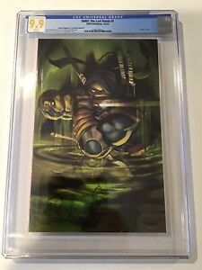 TMNT The Last Ronin #1  🔥 CGC 9.9 🔥 So Rare ! Shah Virgin Cover B HTF Perfect