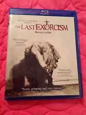 THE LAST EXORCISM BLU-RAY + DVD 2011 SUPERNATURAL HORROR MOVIE