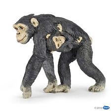 Papo 50194 chimpancé con Baby 6 cm animales salvajes