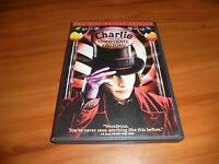 Charlie and the Chocolate Factory (DVD, 2005 2-Disc Widescreen)