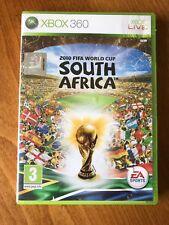 XBOX 360 2010 FIFA WORLD CUP SUDAFRICA GAME-in buonissima condizione CERTIFICATO - 3-PAL