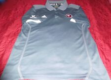 Adidas DETROIT LIONS Wesrtern Conference 3Button Placket S/S GRAY Polo Shirt SzM