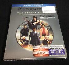 KINGSMAN THE SECRET SERVICE Blu-ray & Digital HD exclusive * STEELBOOK * RARE
