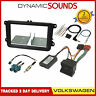 FK-699-T6 Double Din Car Stereo Fascia Fitting Kit for VW Amarok Caddy T6