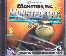 Monster's, Inc.: Monster Tag (PC, 2001, Disney Interactive, SEALED NEW)
