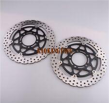 US Front Brake Disc Rotor For Kawasaki NINJA ZX6R 2005-2011 ZX10R 2004-2007