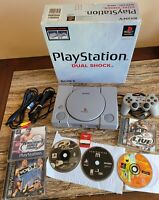 Sony Playstation 1 Lot Boxed TESTED WORKING NUMBERS MATCHING