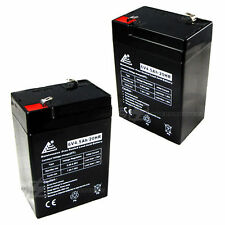 6V 4.5AH Rechargeable Battery COMBO OF 2 for Emergency Exit Lighting Systems