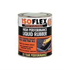Ronseal ILR4L Isoflex Liquid Rubber Black 4.25 Litre
