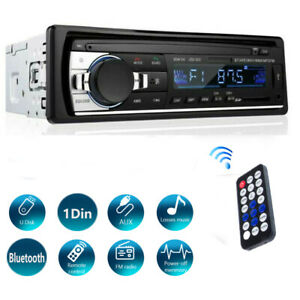 USB Aux-In FM MP3 1Din Autoradio Bluetooth Voiture Stéréo Lecteur TF Car Radio